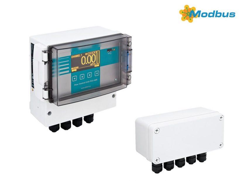 FLOW CONTROL UNIT FCU-400, Dinel-Flowmeter