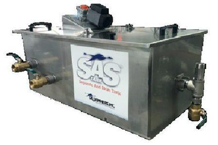 SAS Tank Oil Water Separator, oil skimmer