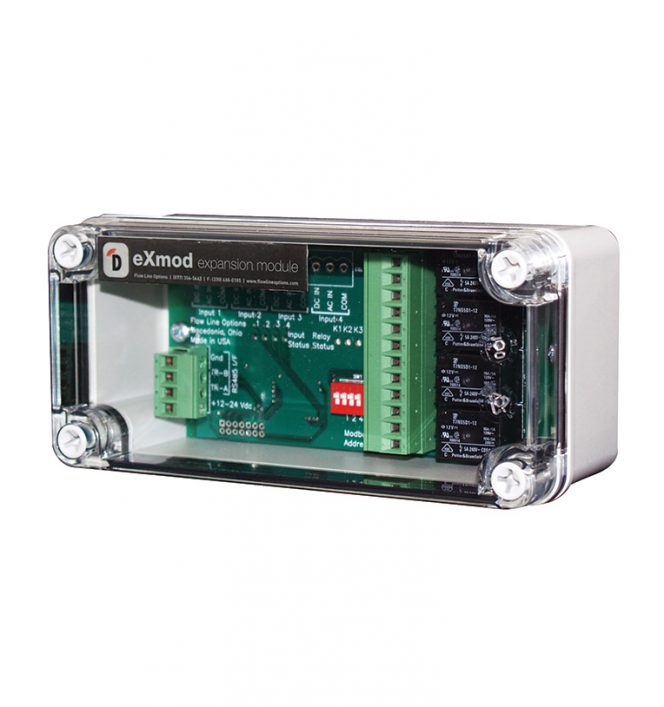 eXmod™ DXM1 Relay Expansion, FLocorp-Monitor