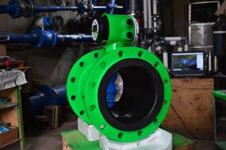 Penentuan Kapasitas Flow Meter Pada Aliran Air