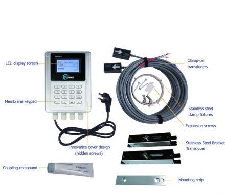 Flowma WUF 300CF Clamp on flow meter ultrasonic