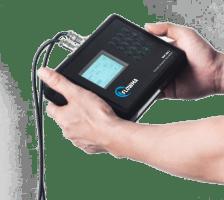 Pengecekan Debit Air Pada Pipa Menggunakan Flowmeter Clamp On