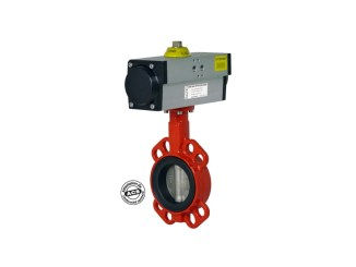 Pneumatic Butterfly Valve, Single or Double Acting VPP - INOX