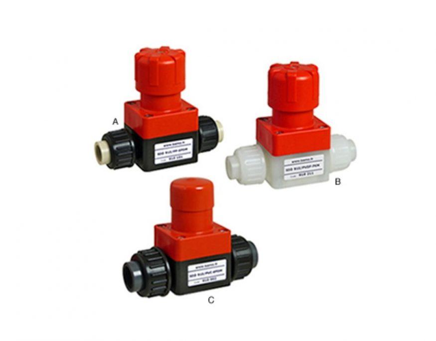 Bamo SDD 910 Pressure Relief Valves