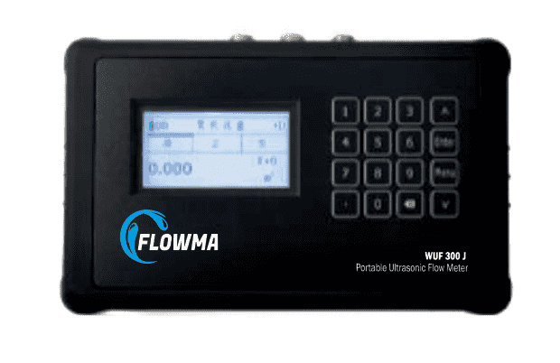 FLOWMA WUF 300 J Portable Ultrasonic Flow Meter