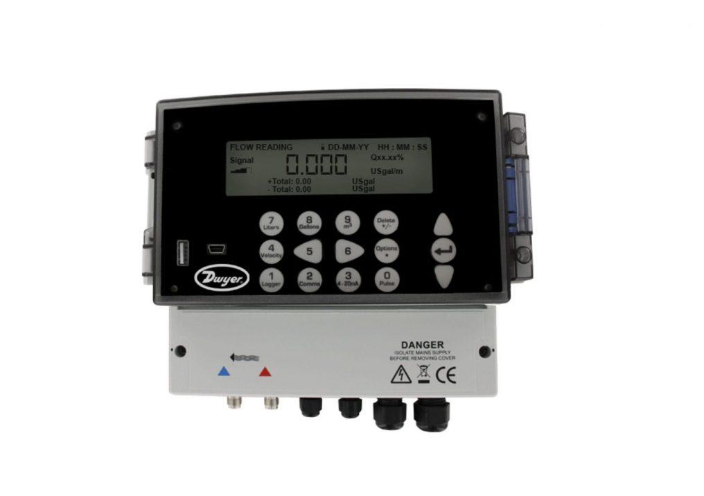 Dwyer UFC Series Ultrasonic Flow Transmitter Set