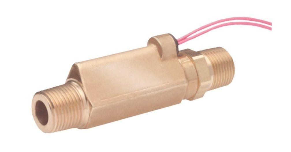Dwyer Series P8 Piston High Pressure Brass Flow Switch