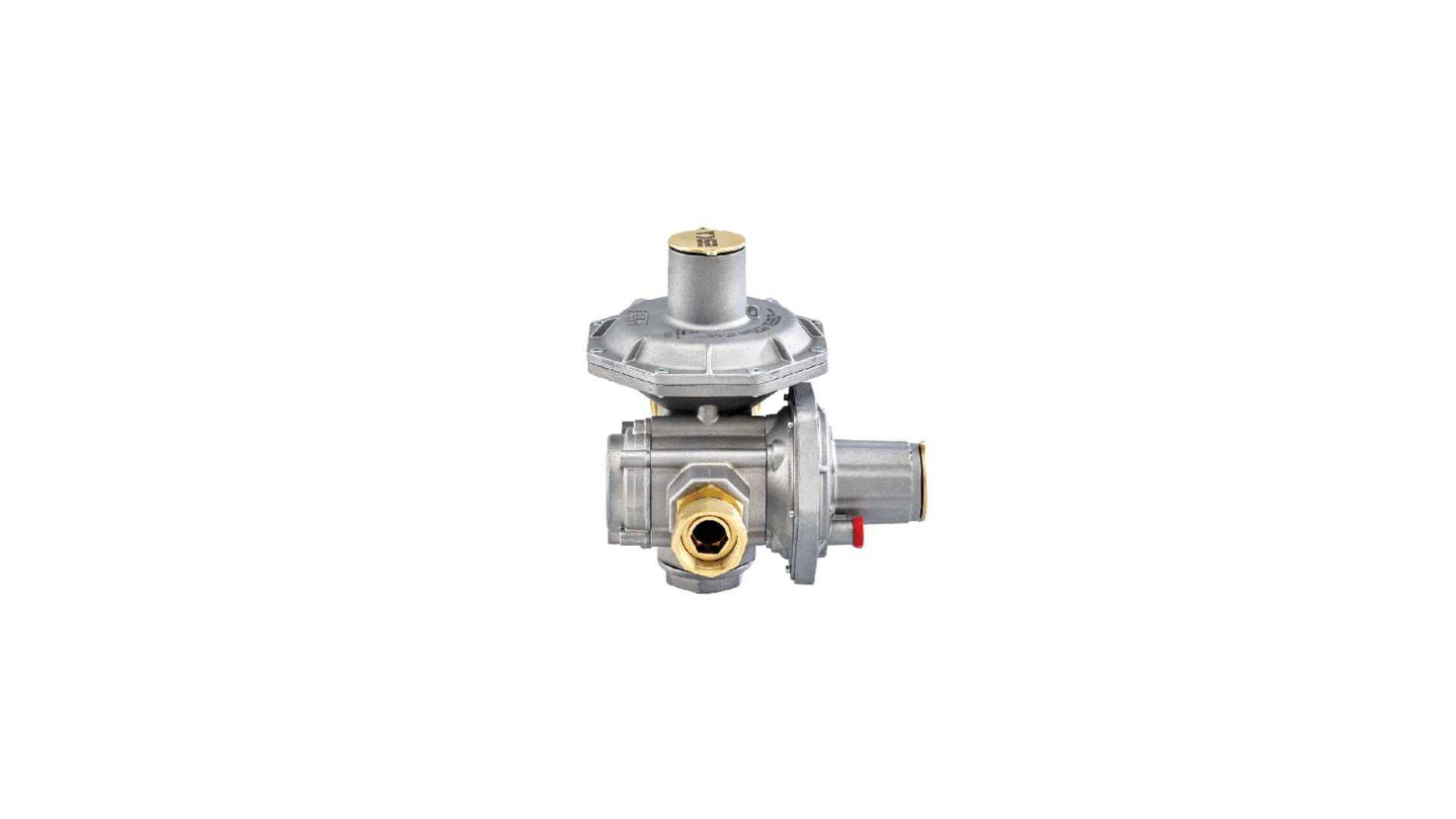Eska ERG-SR Double Stage Gas Pressure Regulator with OPSO