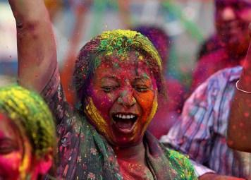 Le Festival de la couleur - Mumbai, India, Monday, March 1, 2010.