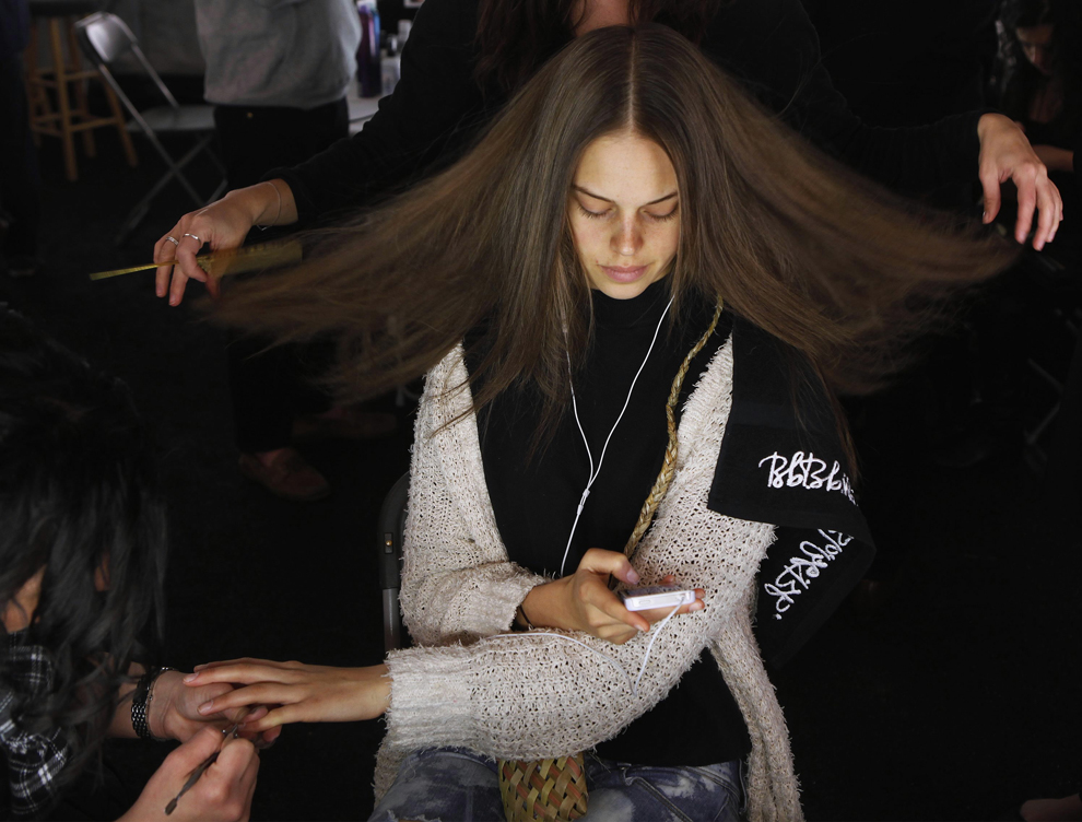 big picture fashion week backstage