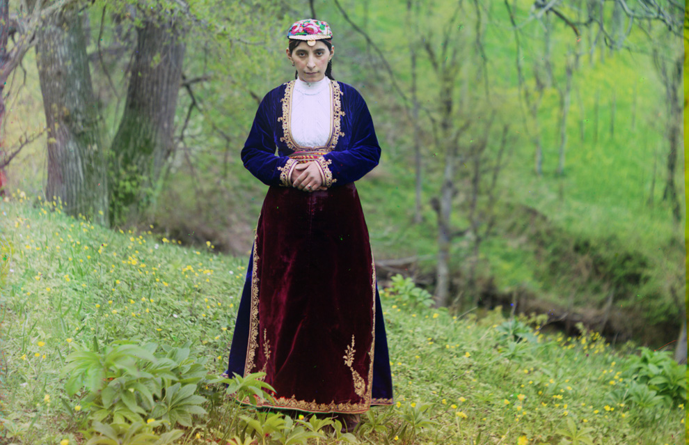 An Armenian woman near Artvin in present-day Turkey, part of the old Russian Empire photos