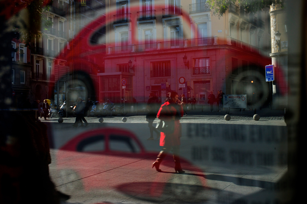 Image result for man reflected in store window