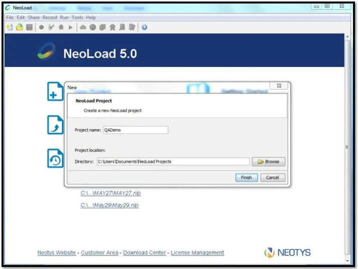 Step by Step Tutorial in Neoload Performance Testing