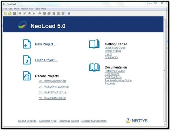Neoland test