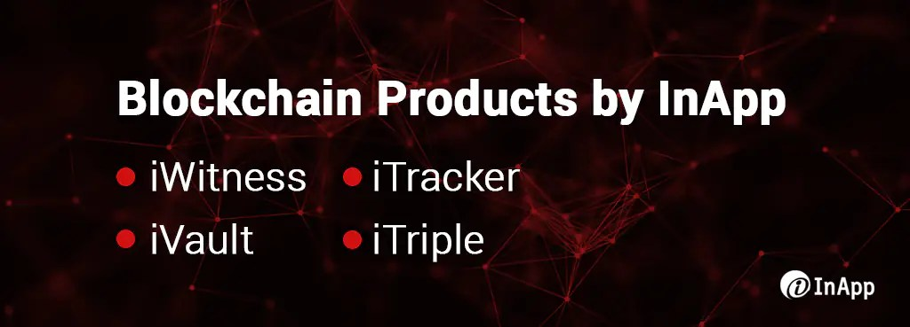 Blockchain Products by InApp