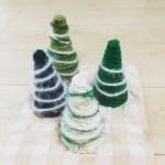 大羽ミシンさんにて「かぎ編みでつくるミニクリスマスツリー」講座