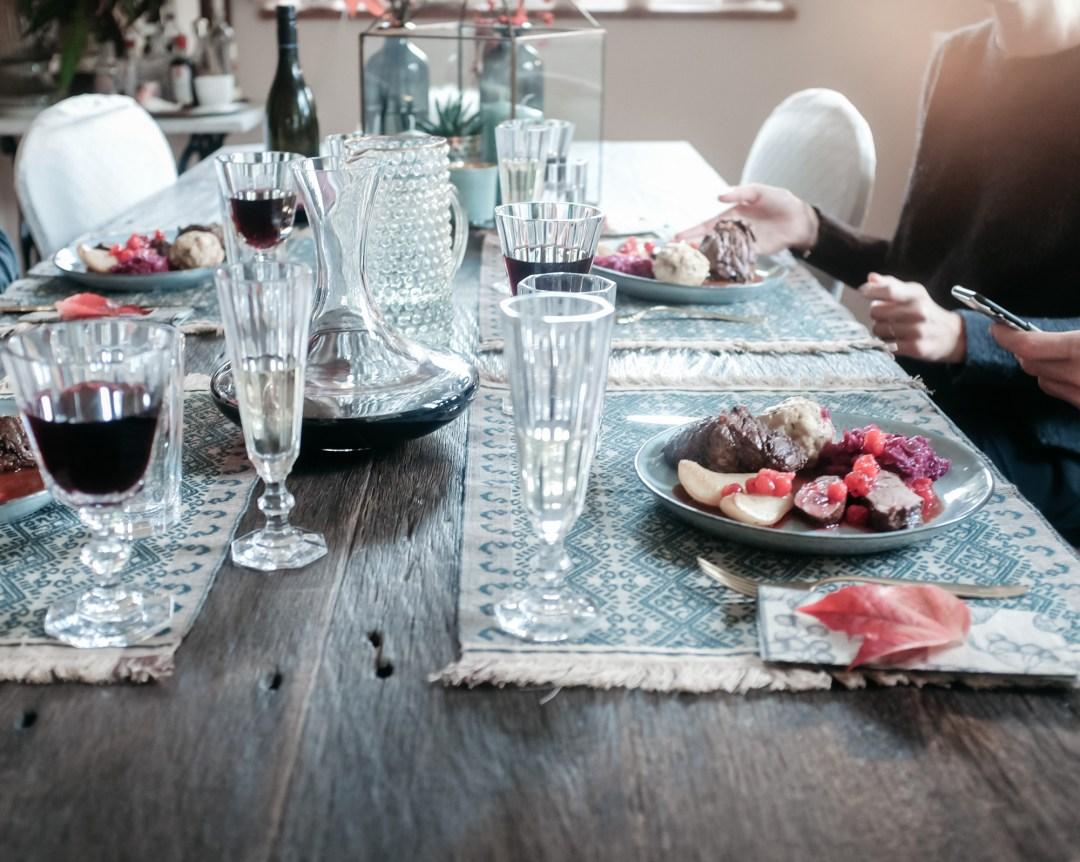 herbstessen familytime tabledecoration autumn