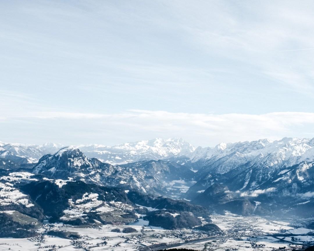 Winter Winterlandschaft Alpen Ausblick Ü50Mode fashionover50 inastil christmastime Weihnachtszeit BergpanoramaDSCF0959