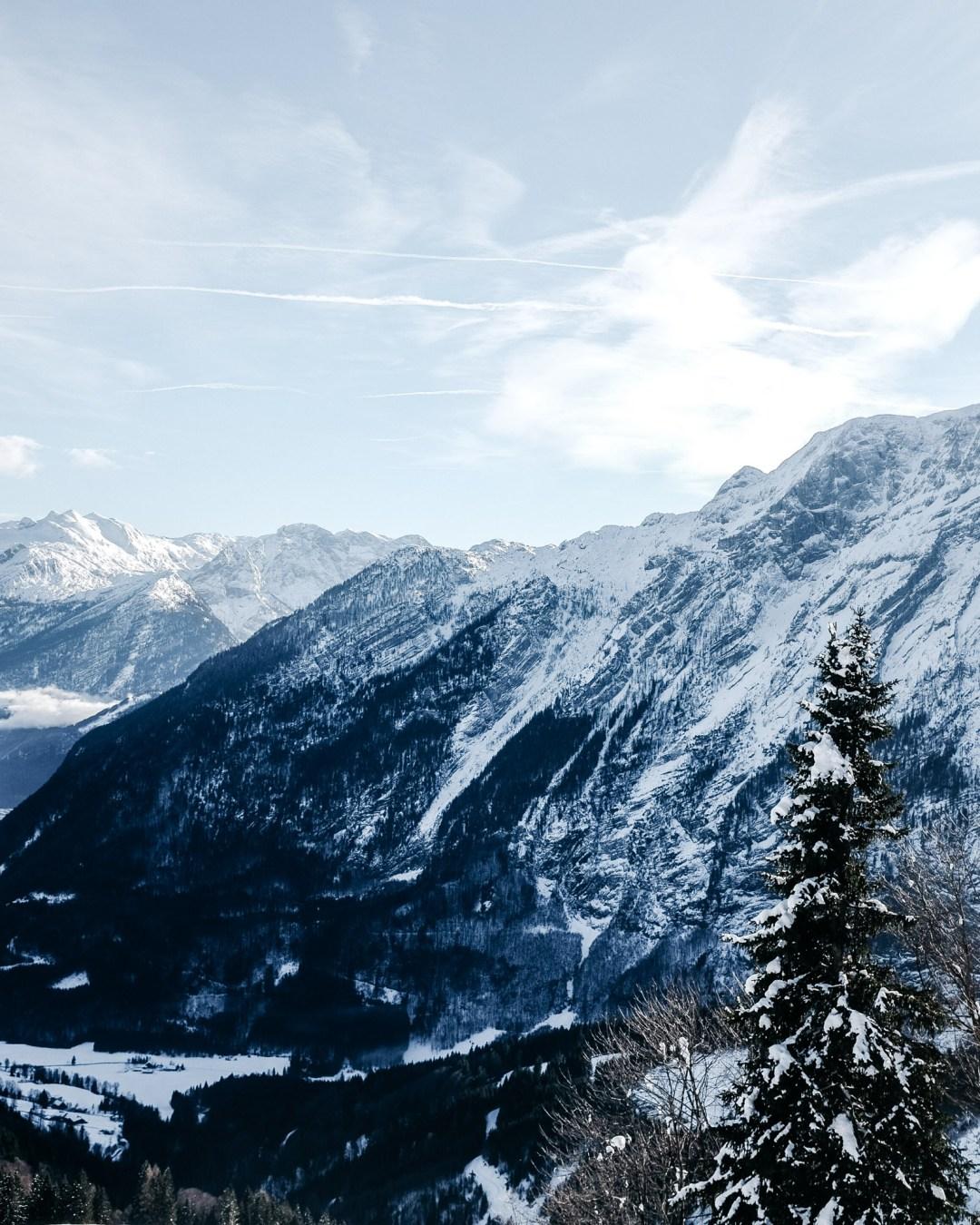 Winter Winterlandschaft Alpen Ausblick Ü50Mode fashionover50 inastil christmastime Weihnachtszeit BergpanoramaDSCF0965