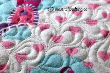 Pat F's Princess Quilt - Quilted by Cindy Anderson of In A Stitch Quilting