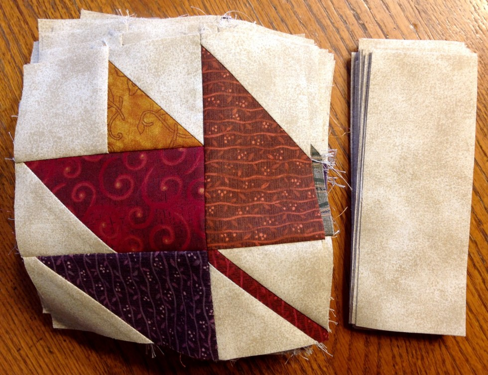 Harvest Melody Quilt Pattern Pieces