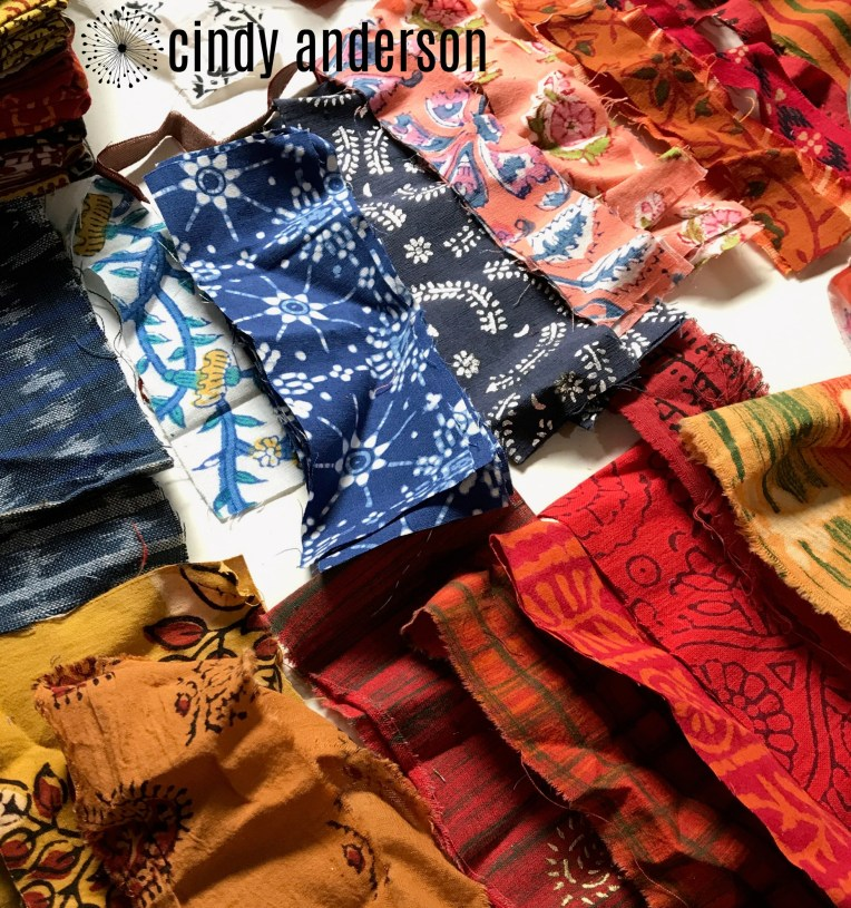 Handloom Batik Strips