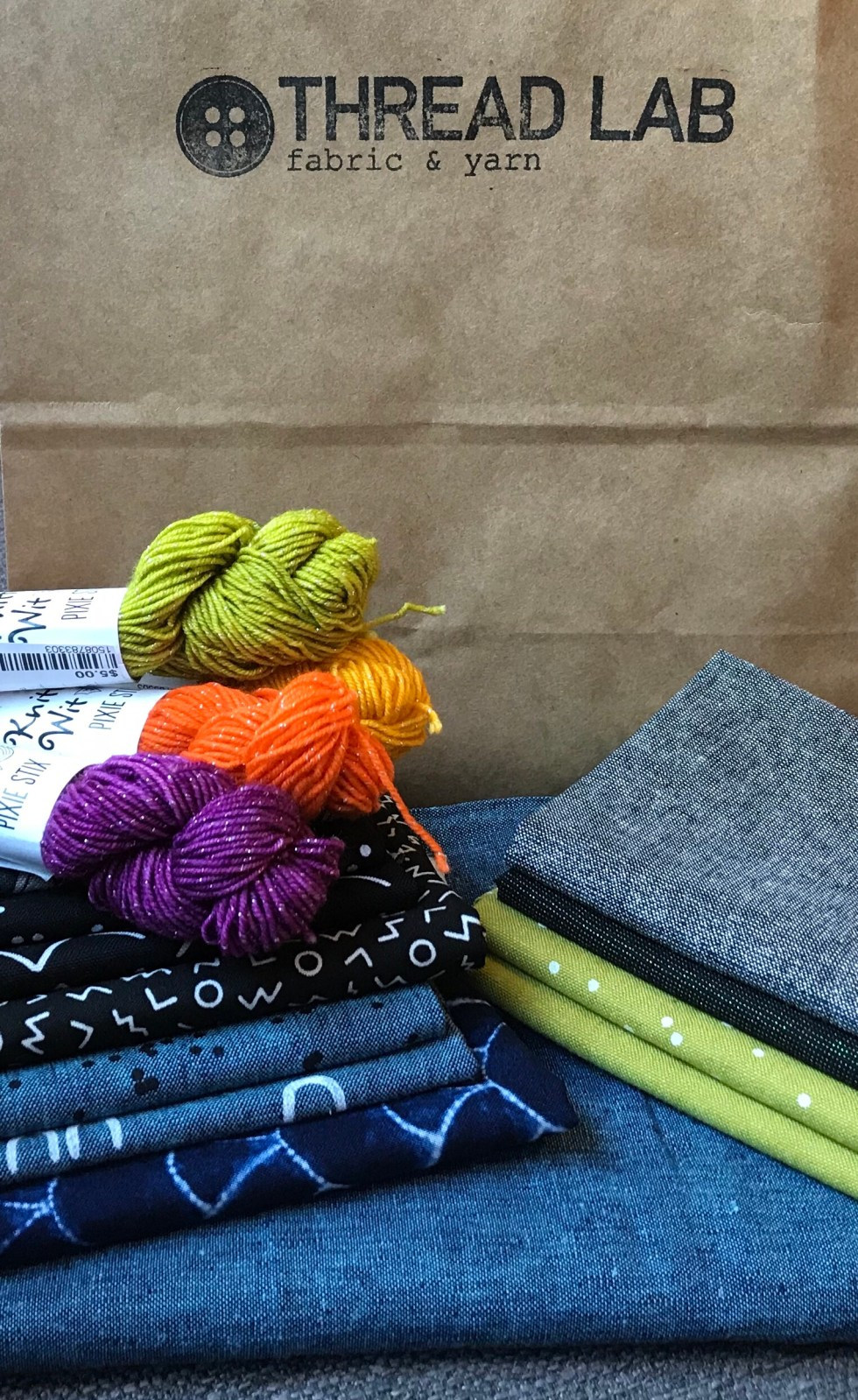 Thread Lab Fabric & Other Goodies
