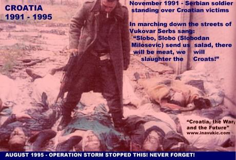 Croatia victims vukovar 1991