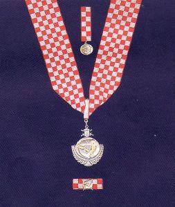 Croatian Order of Duke Domagoj with necklace  Photo: Wikimedia Commons