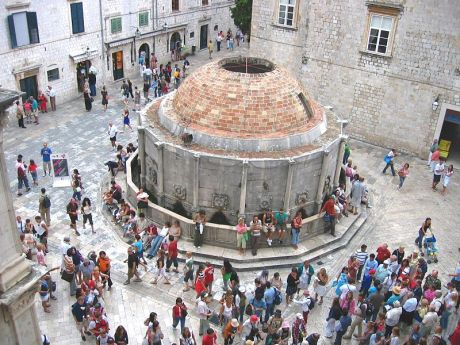 Onofrio's Fountain Dubrovnik  Photo: wikimedia