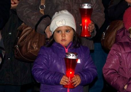 Varazdin Croatia remembers Vukovar - November 2013 Photo: Zeljko Hajdinjak/Cropix