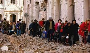 Vukovar, Croatia 1991 Serbs ethnically cleansed Croats