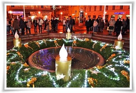 Advent in Zagreb, Croatia