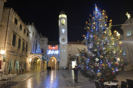 Advent in Dubrovnik, Croatia
