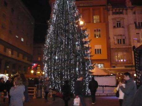Advent in Zagreb, Croatia