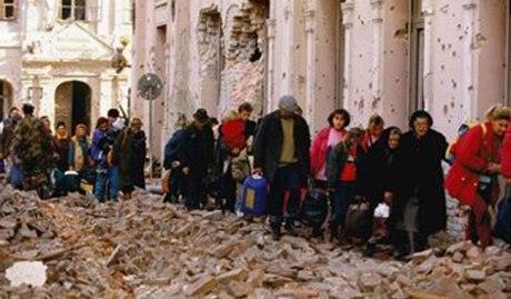 November 1991 Croat refugees