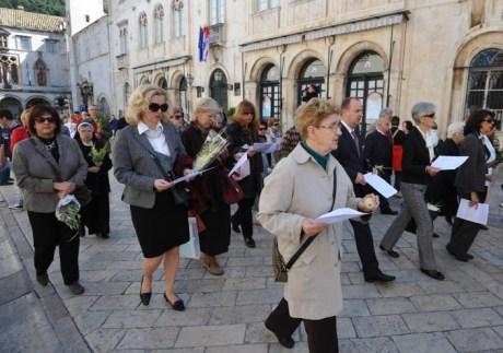 Palm Sunday 2014 Dubrovnik Croatia Photo: Zeljko Tutnjevic