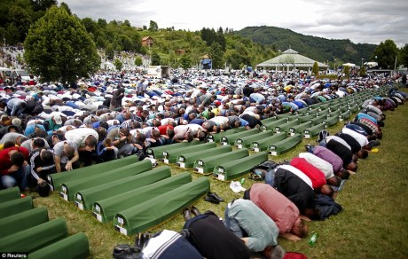 19 Anniversary of Srebrenica Genocide Photo: Reuters