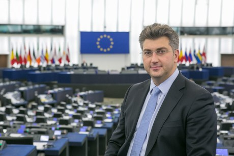 Croatian Member of EU Parliament Andrej Plenkovic Who tabled the critical EUP resolution  on the Serbian nationalist Vojislav Seselj
