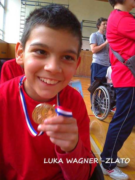 Luka Wagner Won gold last year at Croatian Boccia Competition