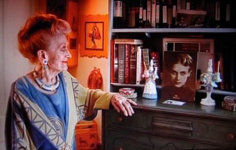 Mia Slavenska  in her advanced years of life