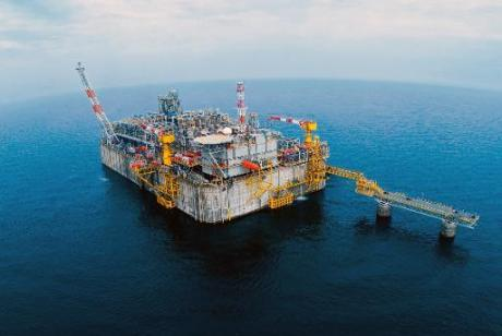 Offshore oil drilling platform