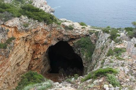 Odysseus Cave - Mljet, Croatia