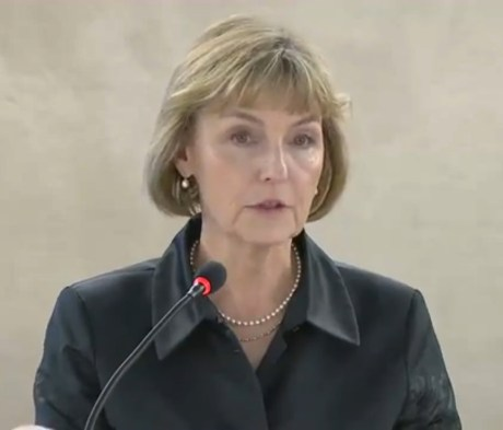 Vesna Pusic Photo: Screenshot UN WEB TV 3 March 2015
