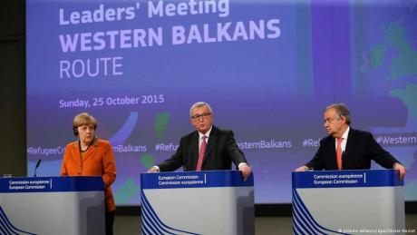 European Commission mini-summit on refugee crisis Sunday 25 October 2015