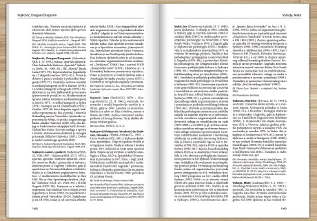 Screenshot  Page from Lexicon of Croatian Migration and Minorities