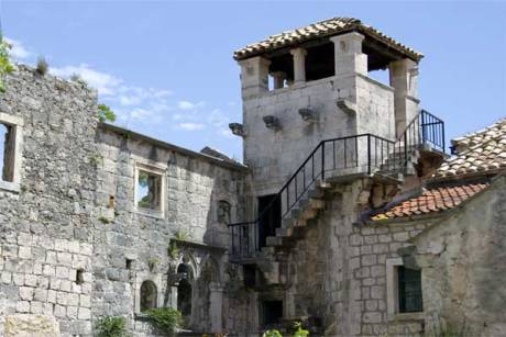 Korcula Croatia House where Marco Polo Was Born