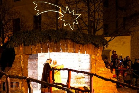 Live Nativity Zagreb Croatia 2015