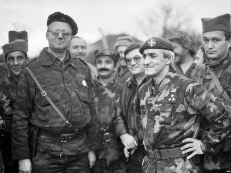 1991 - Vojislav Seselj and Dragan Vasiljkovic lead the way to mass murder and ethnic cleansing in Croatia
