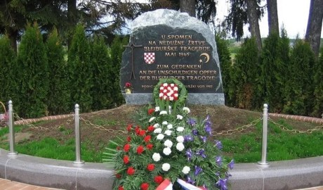 Bleiburg memorial site for Croatian victims of communist crimes